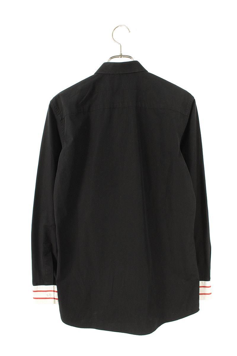 フロントスタープリント長袖シャツ