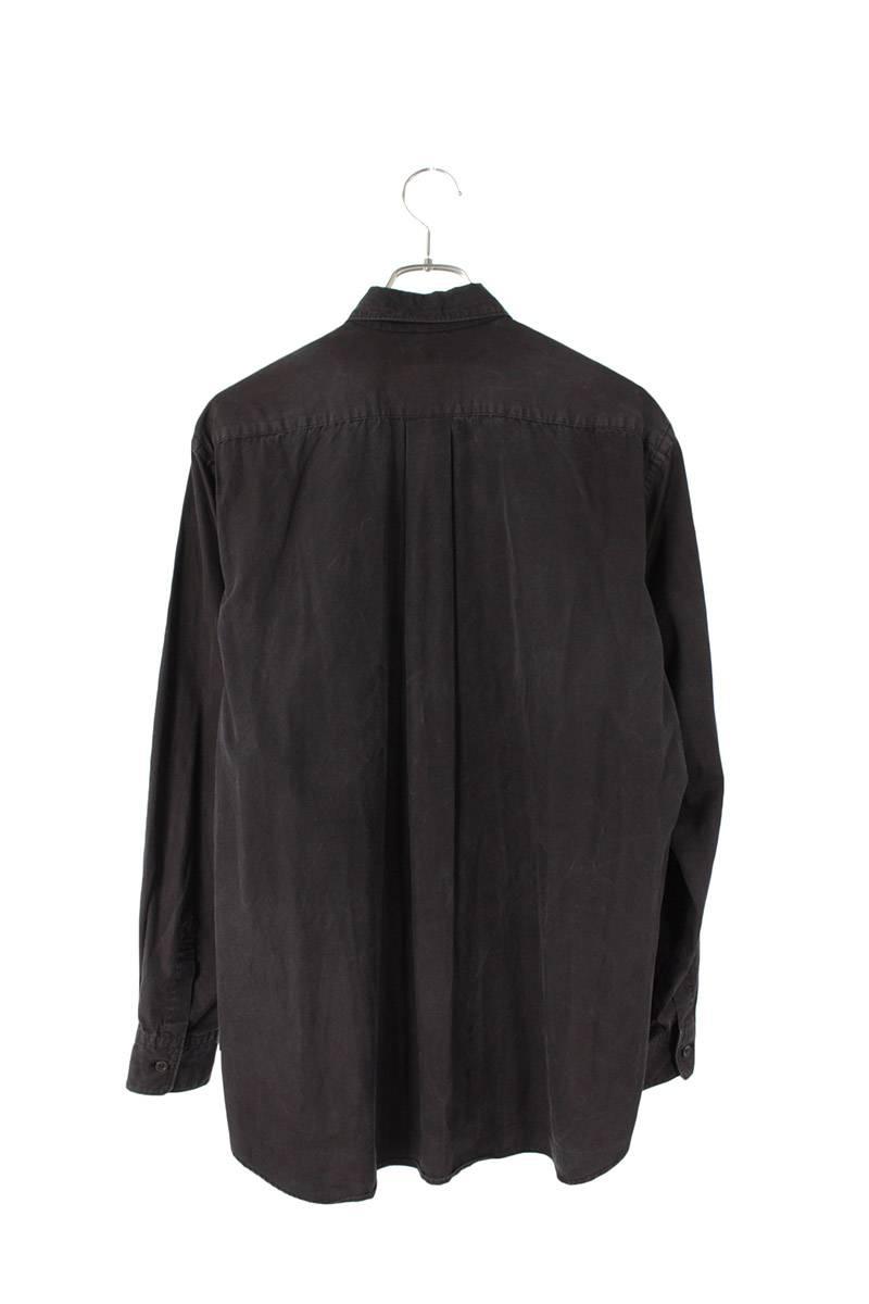 AD2001フロント切替長袖シャツ