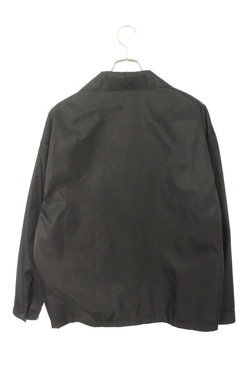 ロゴプレートオーバーサイズ長袖シャツ
