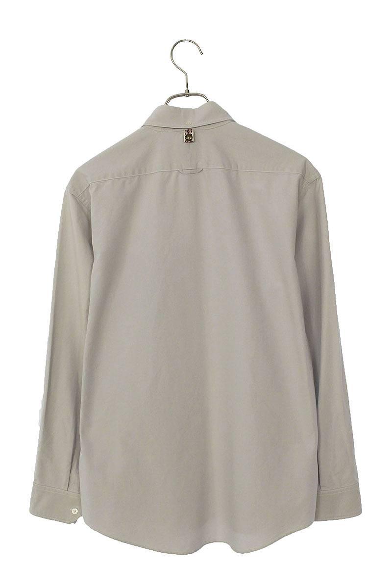 スナップボタン長袖シャツ