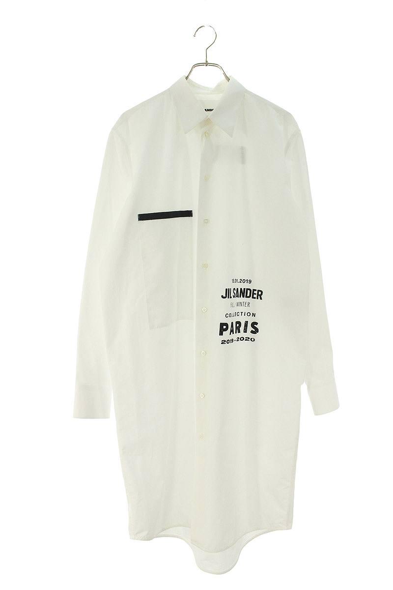 ロゴプリントロング長袖シャツ