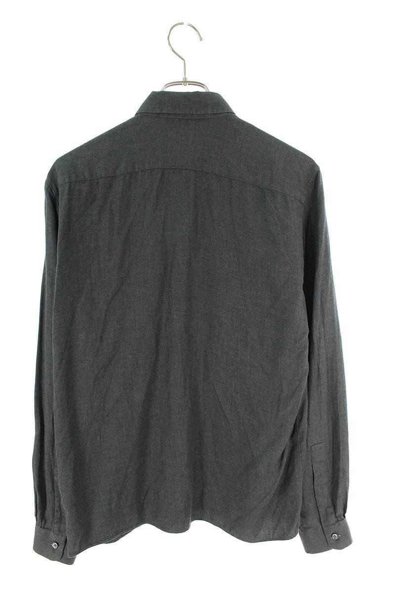 胸ポケット長袖シャツ