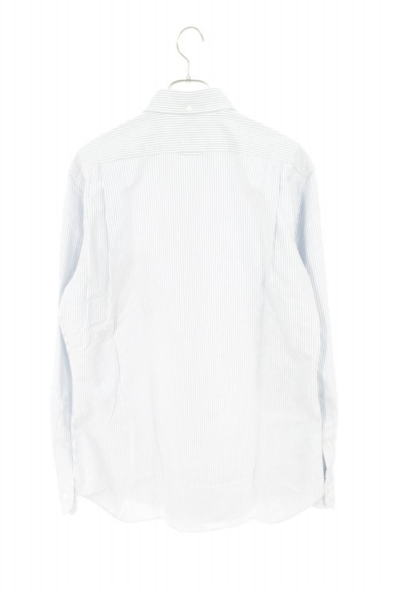 ボタンダウンストライプ長袖シャツ