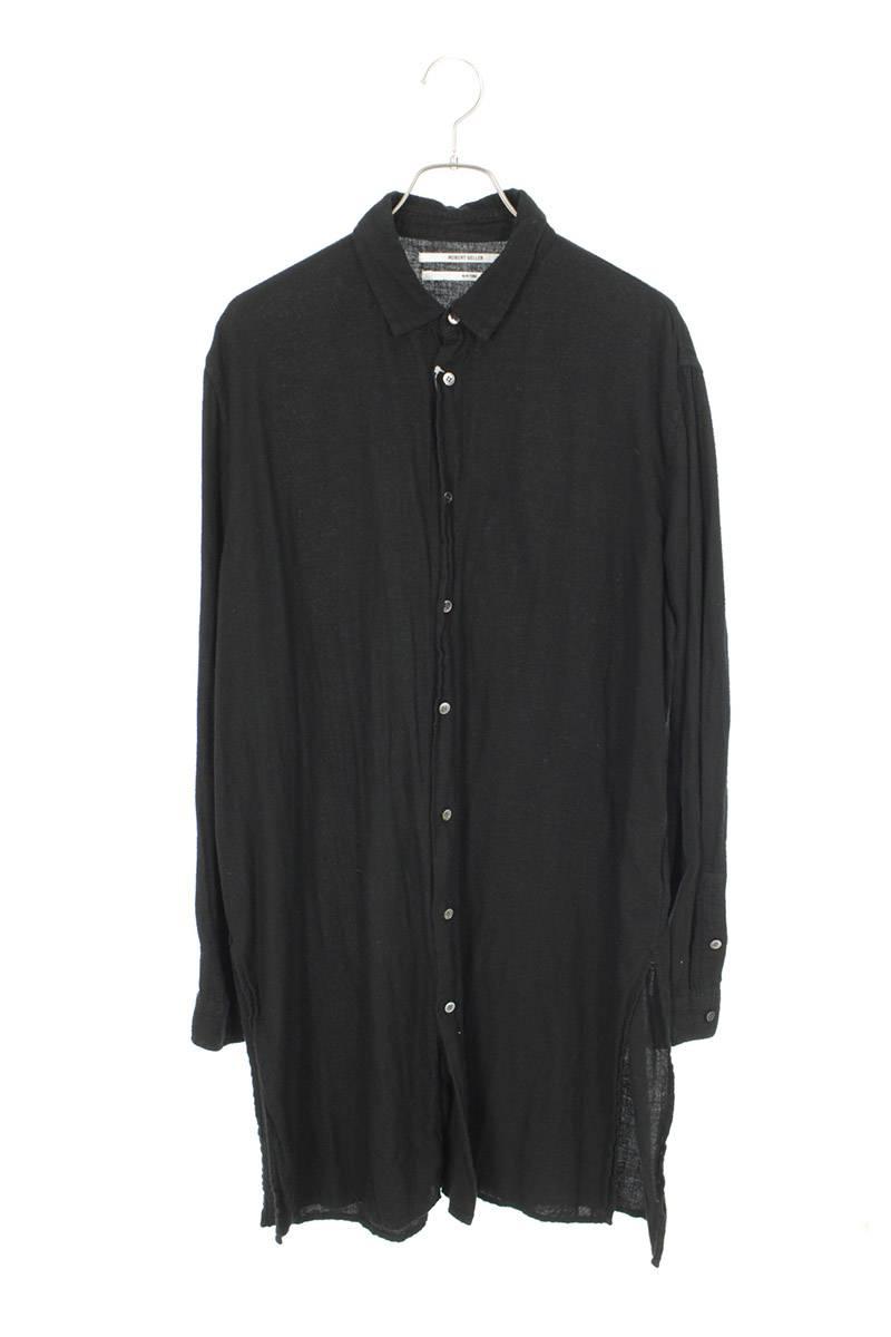 コットンロング長袖シャツ