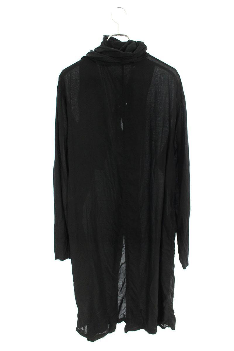 スカーフデザインロング長袖シャツ