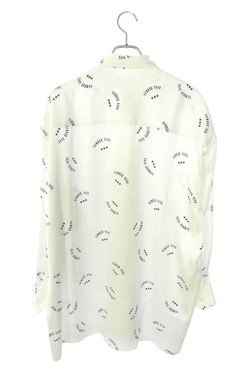 ロゴプリント長袖シャツ