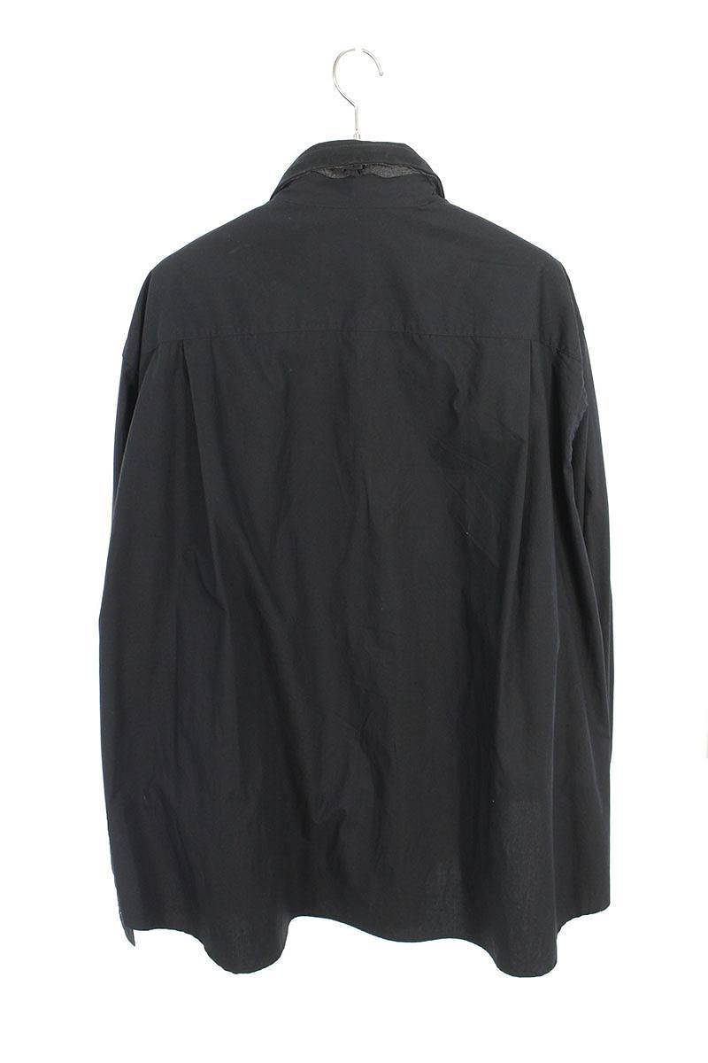 レイヤードドッキング長袖シャツ