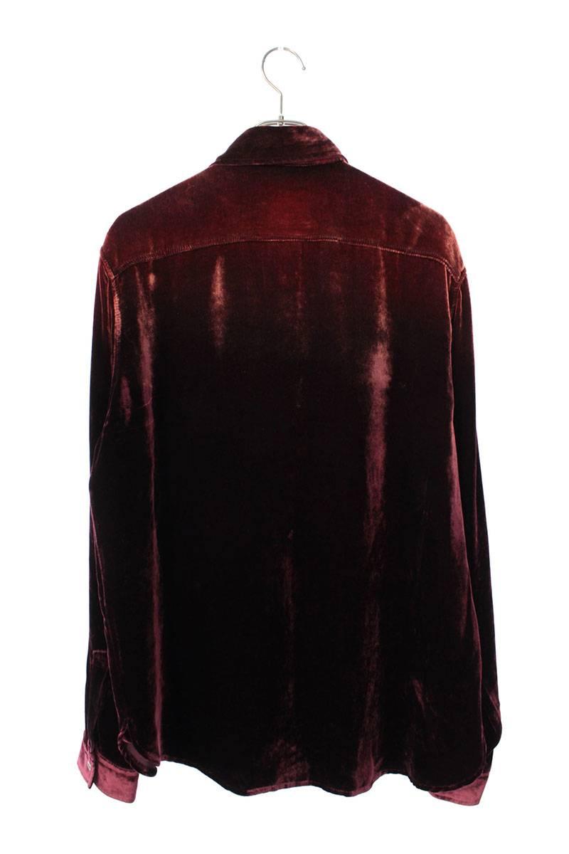 ベルベット長袖シャツ