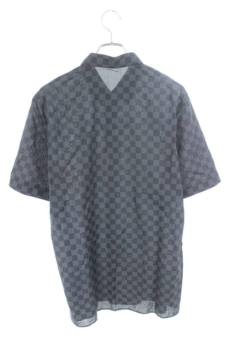 ダミエグラフィット半袖シャツ