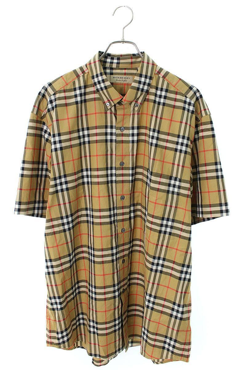 ノヴァチェック半袖シャツ