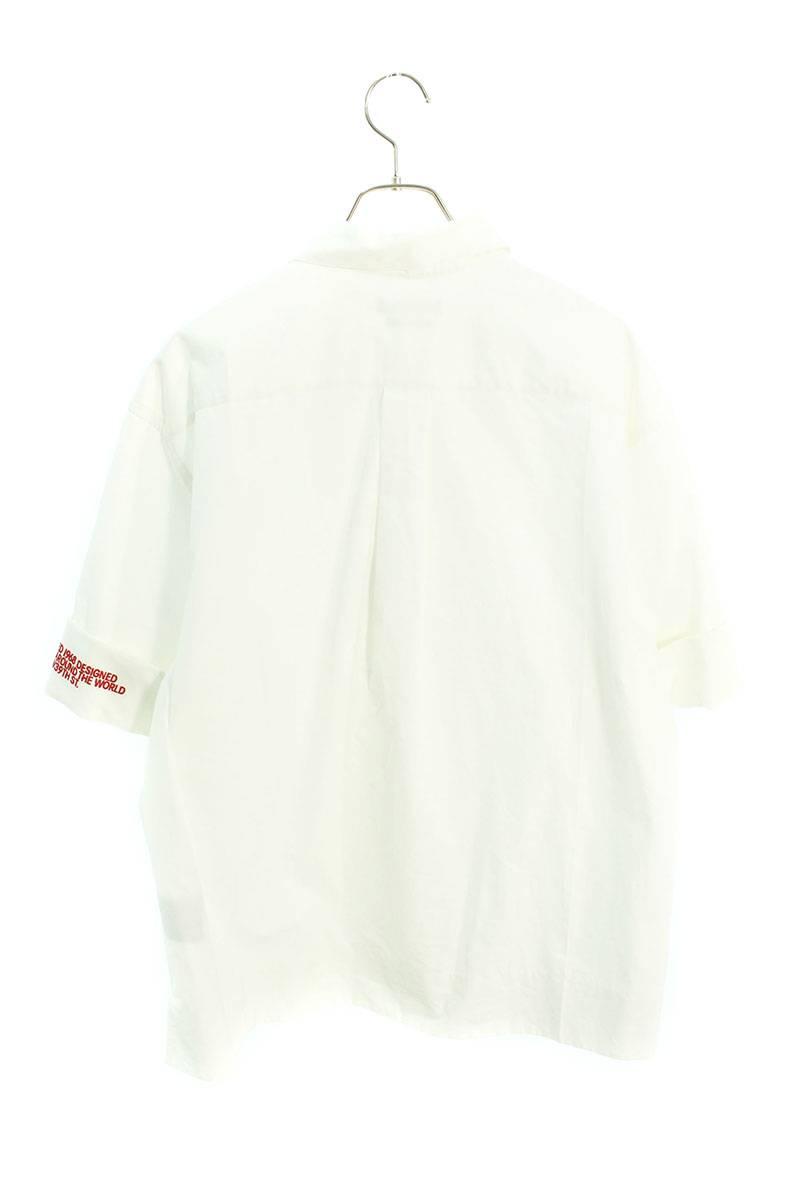 205W39NYC/オーバーサイズド半袖シャツ
