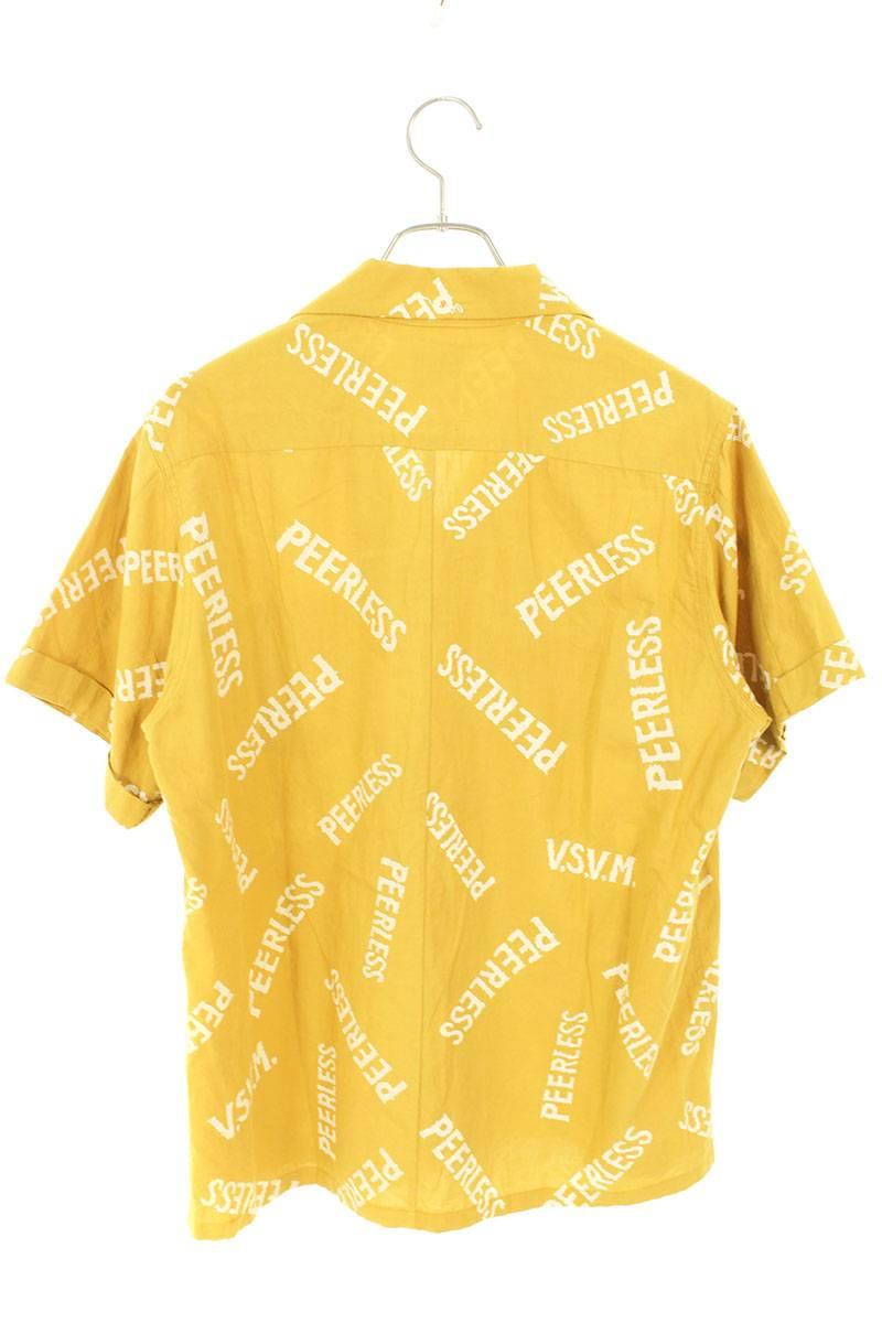ロゴ総柄アービング半袖シャツ