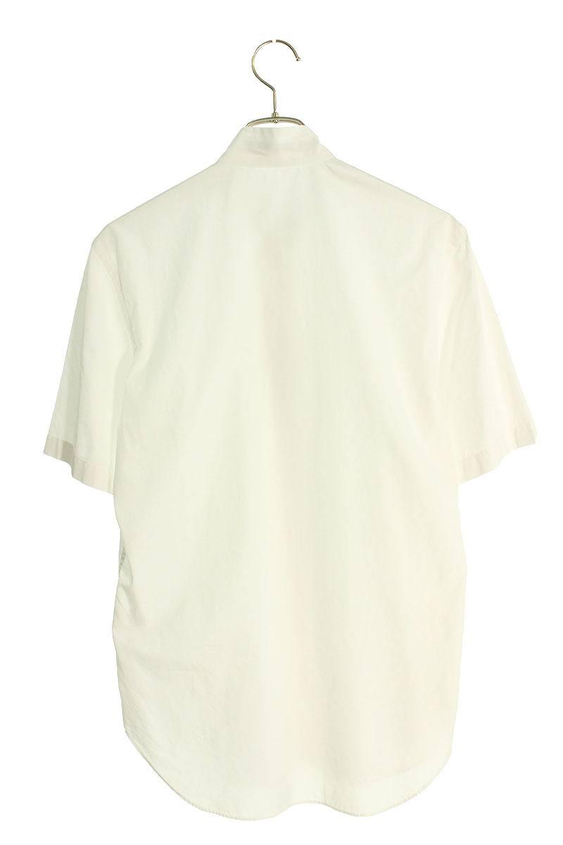 ハイネック比翼半袖シャツ