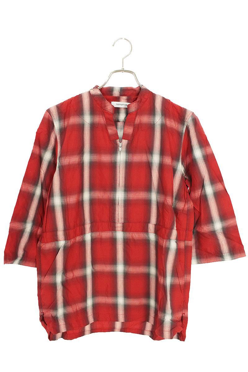 カウボーイプルオーバー半袖シャツ