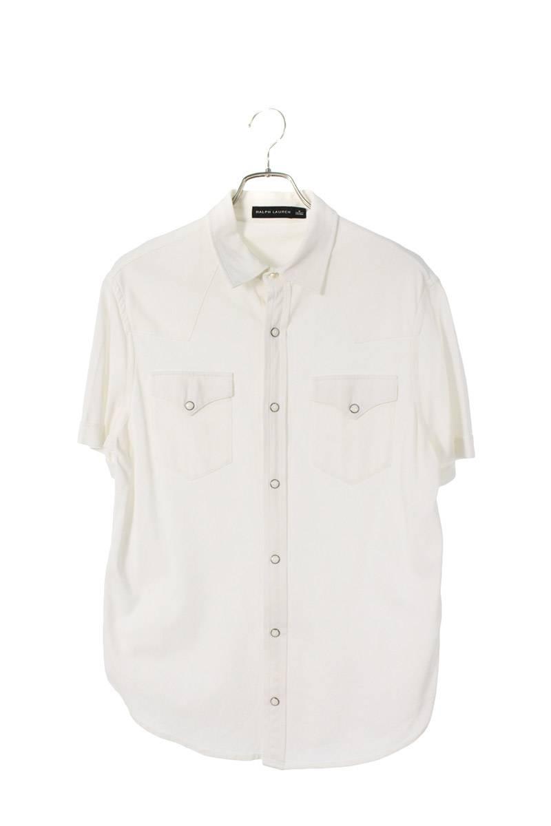 鹿の子ウエスタン半袖シャツ