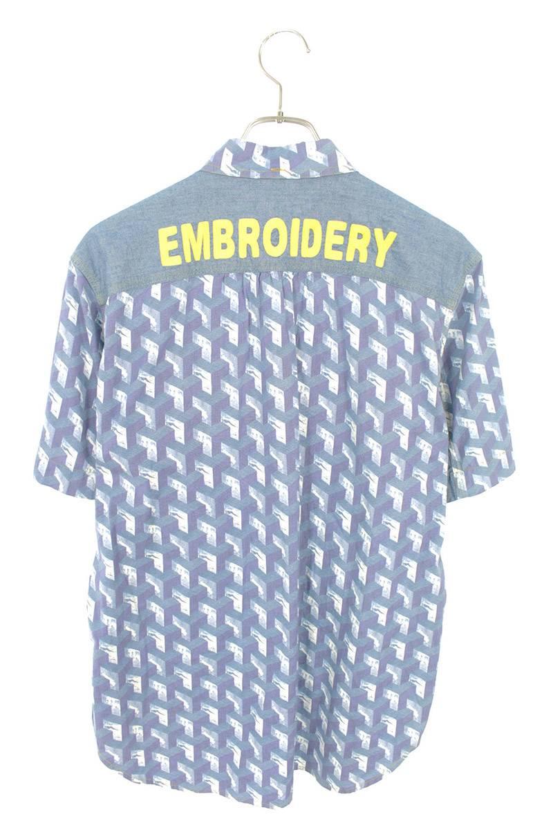 AD2012 テーピング切替半袖シャツ