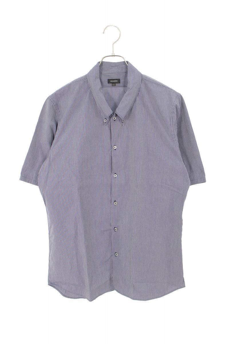 ボタンダウンストライプ半袖シャツ