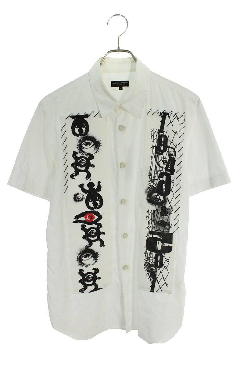 AD2012フロントデザイン半袖シャツ