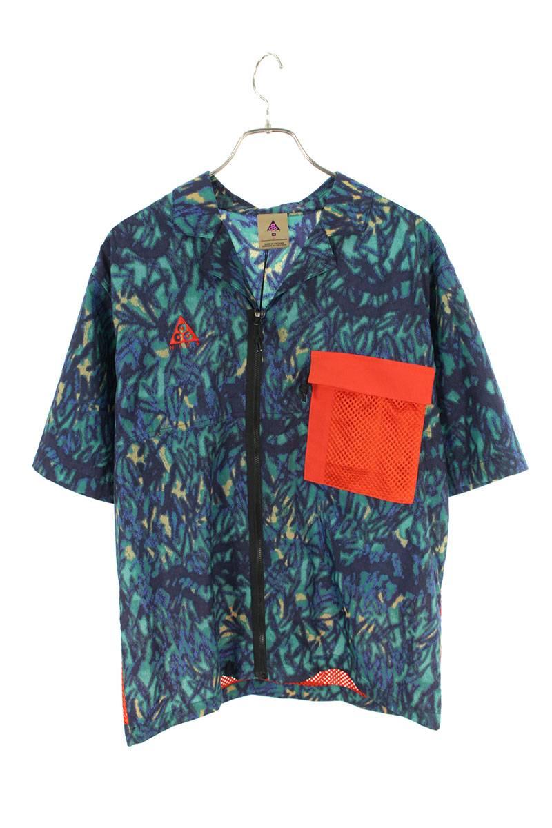 メッシュポケット半袖シャツ
