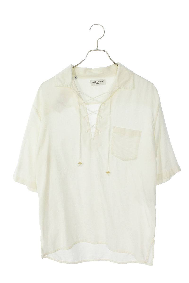 バンダナジャガード半袖シャツ