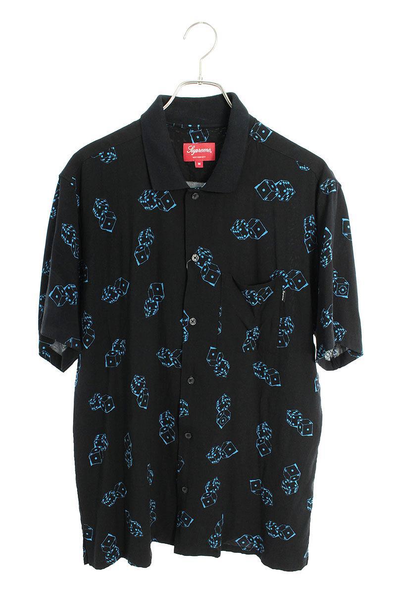 ダイスレーヨン半袖シャツ