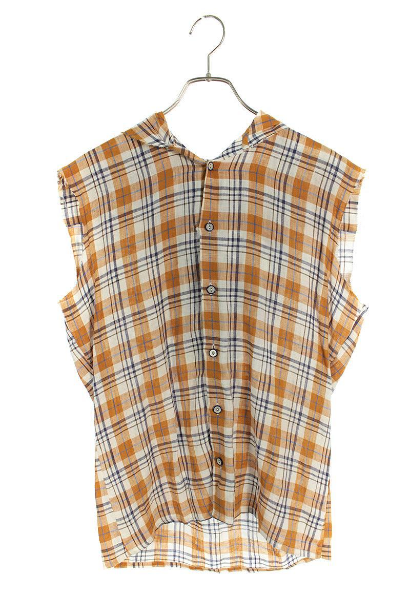 カットオフノースリーブシャツ