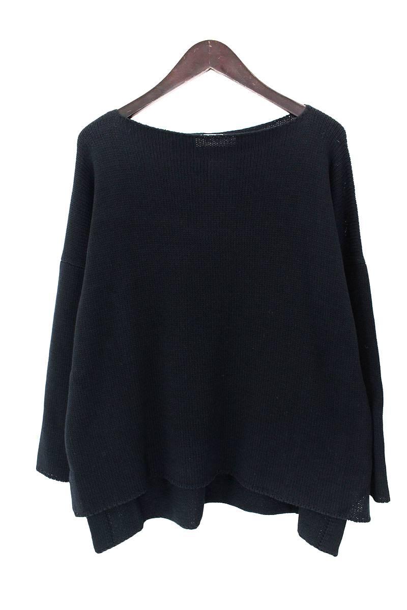 サイドスリットオーバーサイズニットセーター