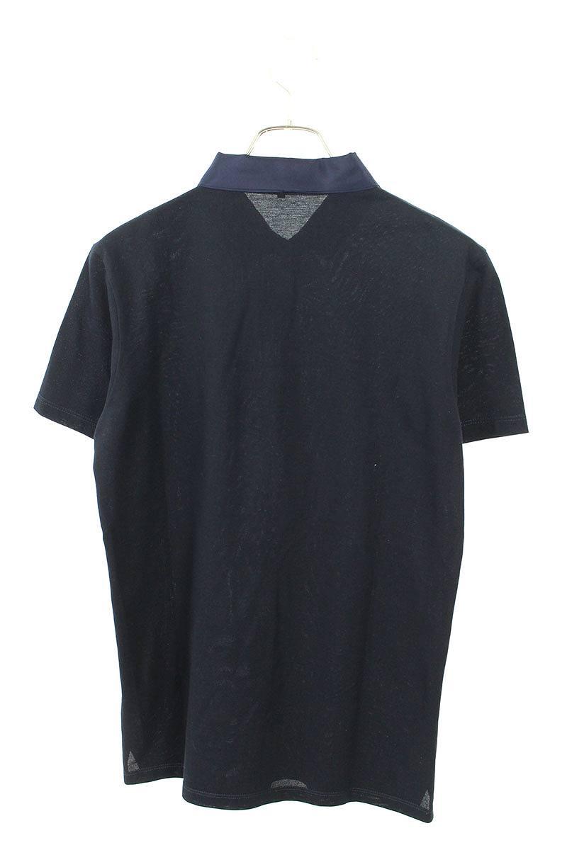 カラー切替半袖ポロシャツ