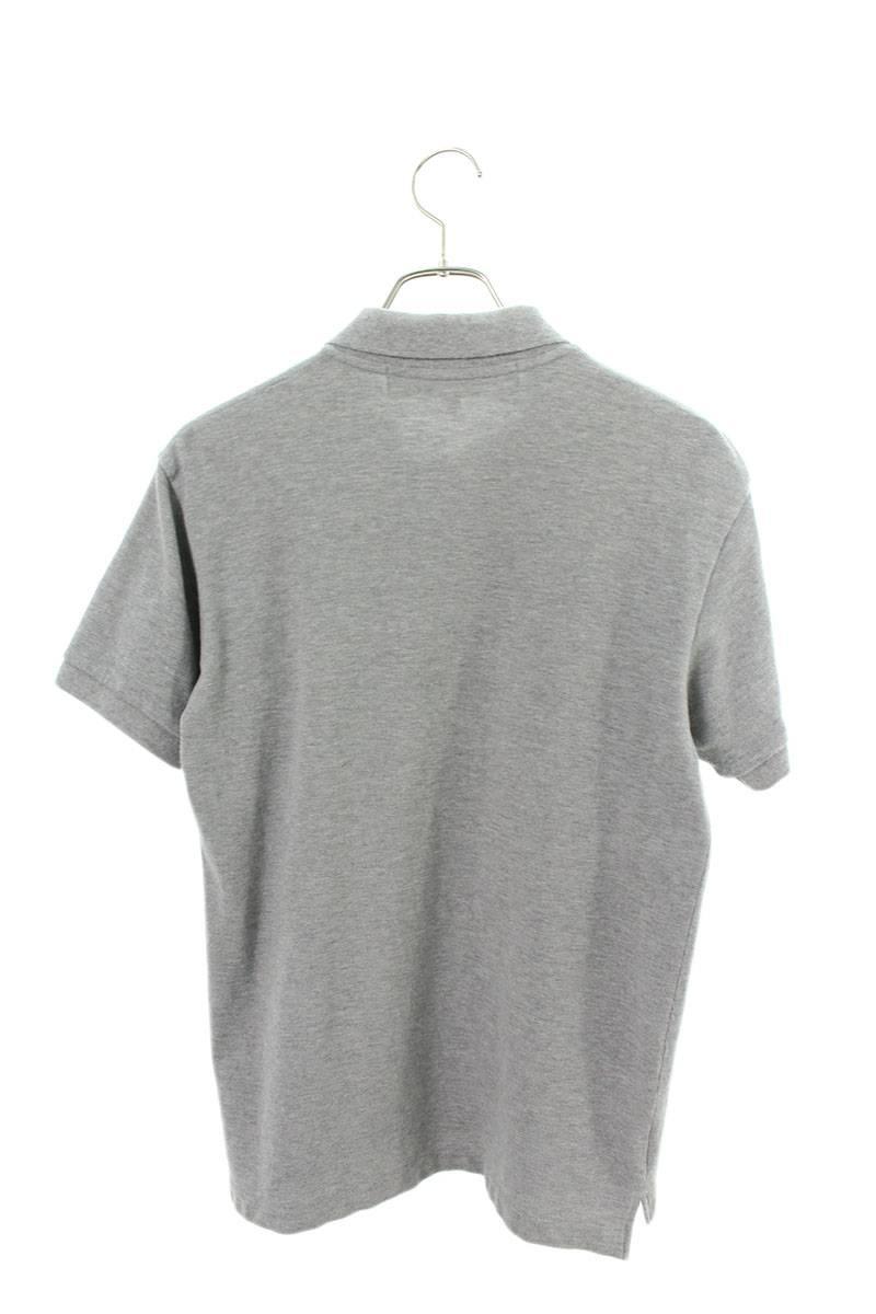 AD2014ハートワッペン鹿の子半袖ポロシャツ