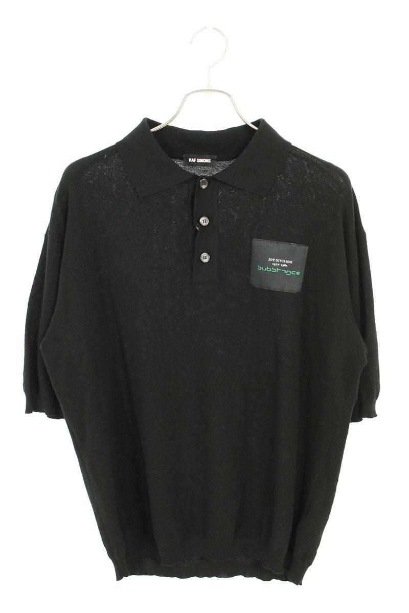 ジョイディビジョンパッチ半袖ポロシャツ