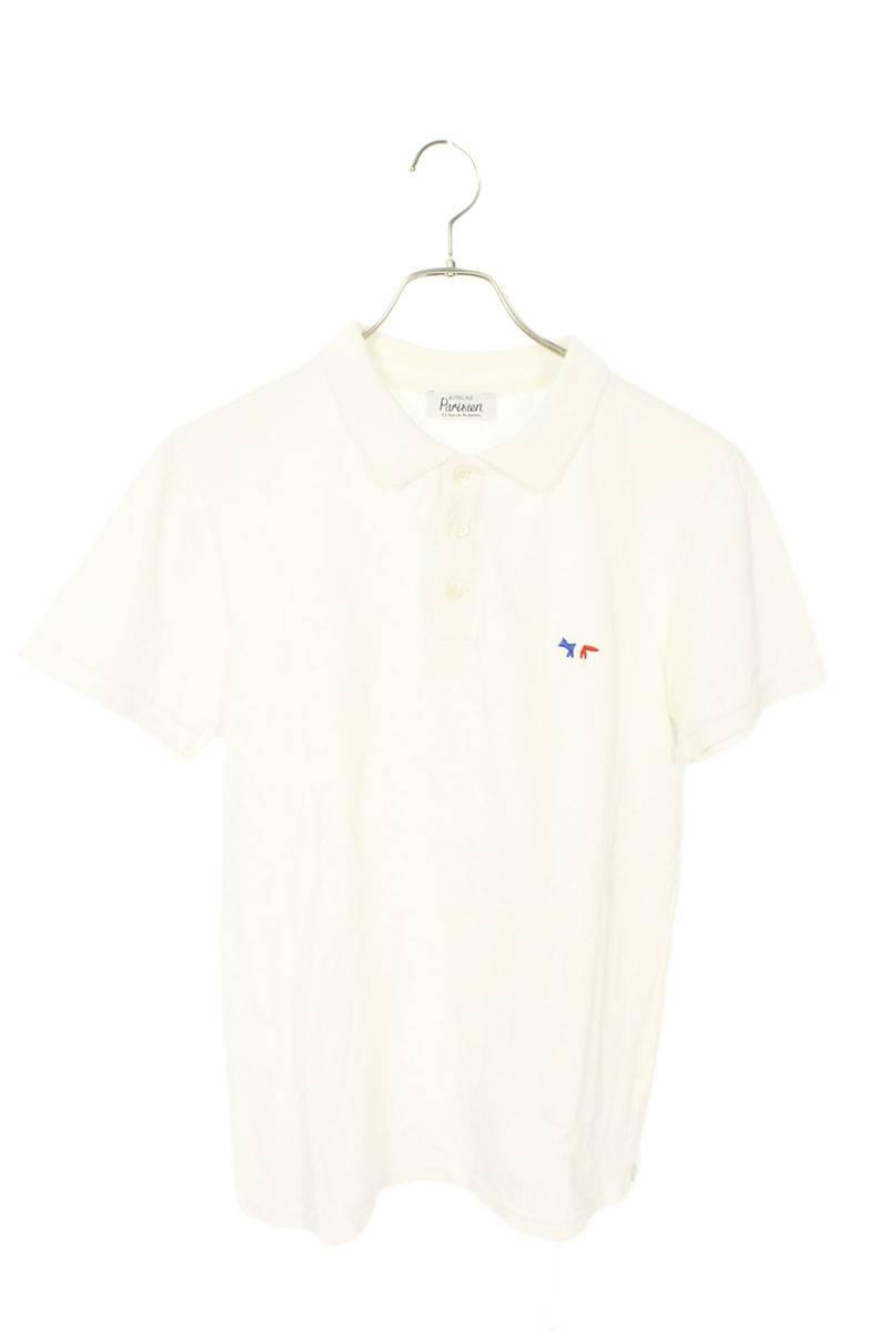 チェストワッペン半袖ポロシャツ