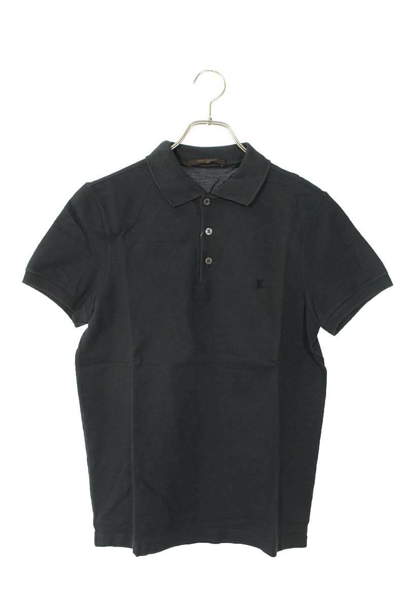 胸ロゴ半袖ポロシャツ