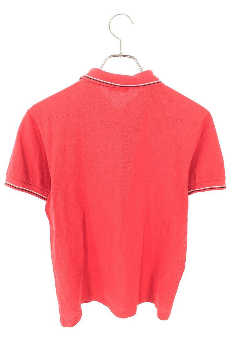 フラップデザイン半袖ポロシャツ