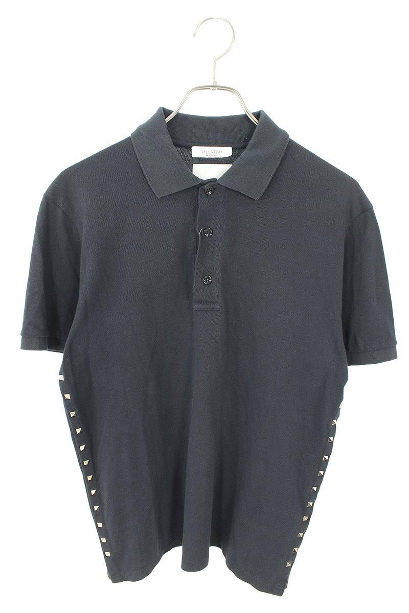 サイドロックスタッズ半袖ポロシャツ