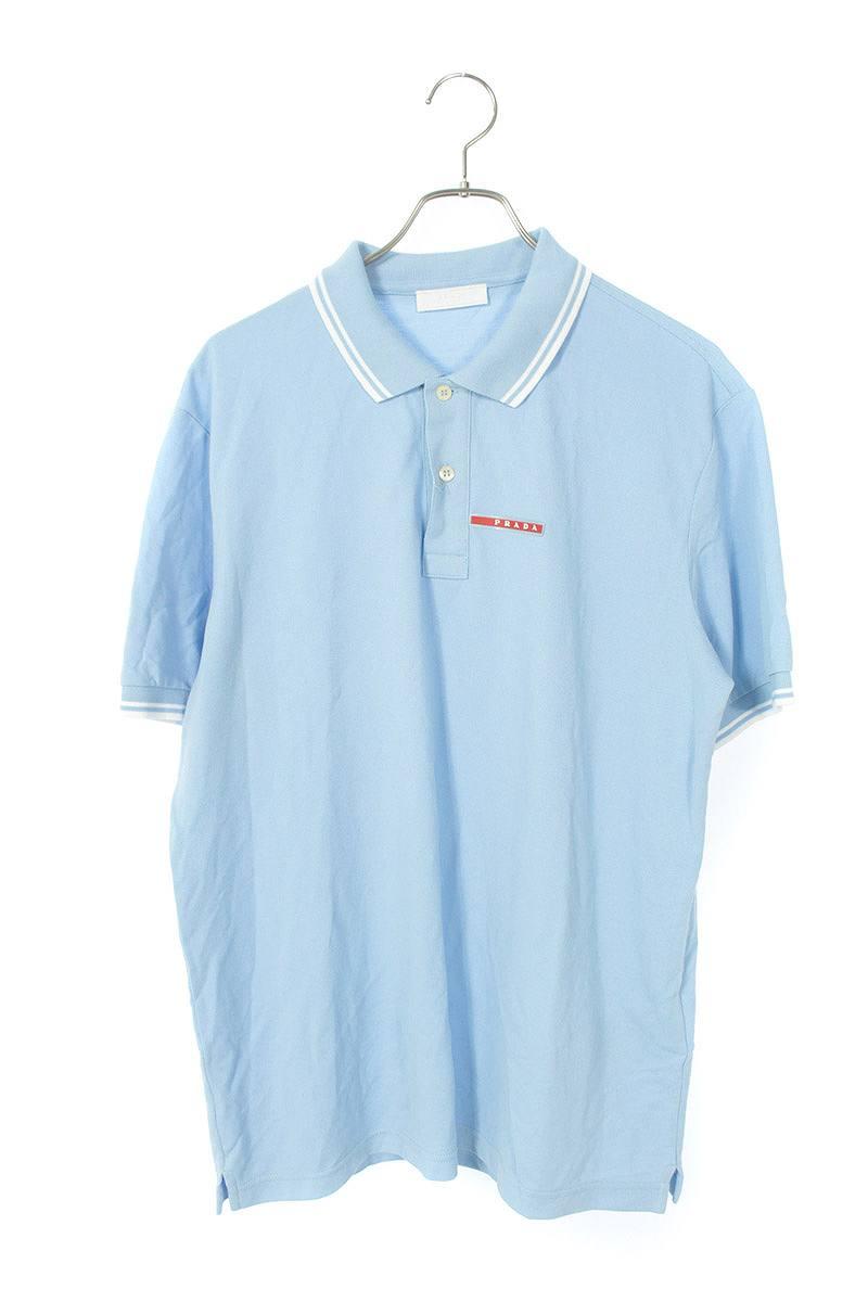 ラバーロゴ半袖ポロシャツ