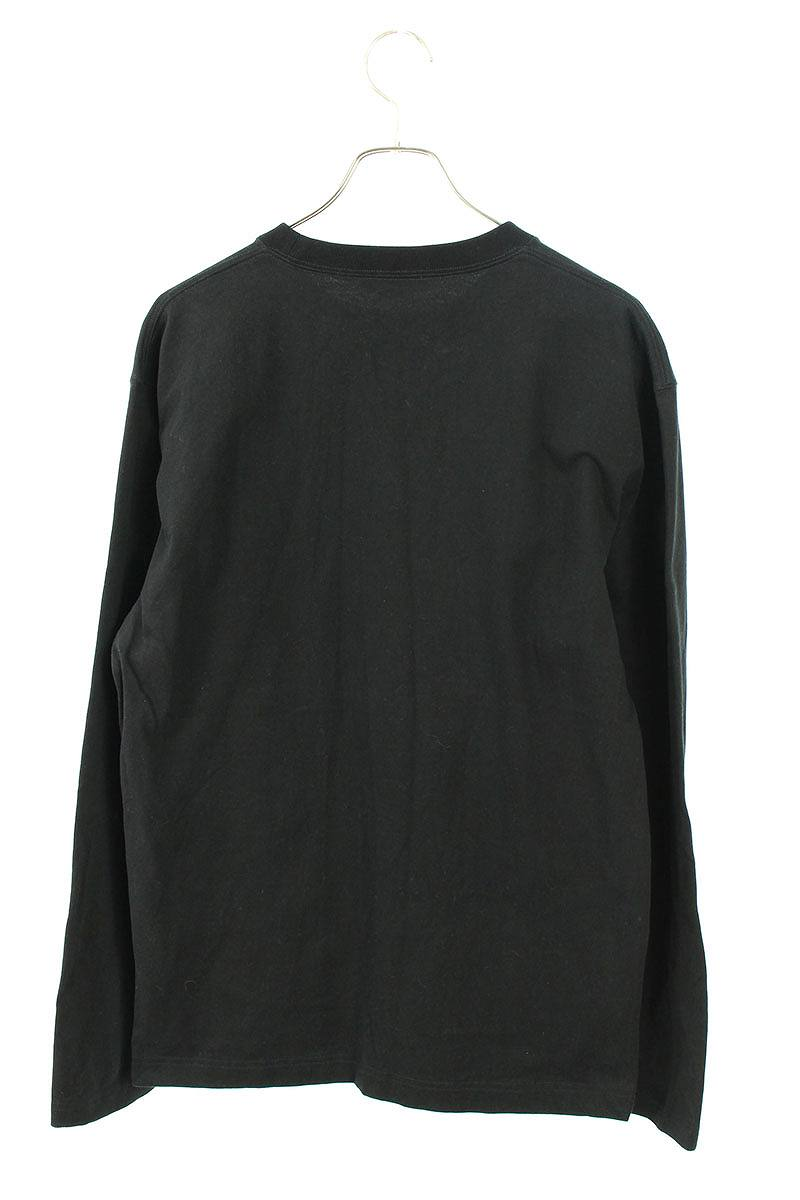 英字刺繍長袖カットソー