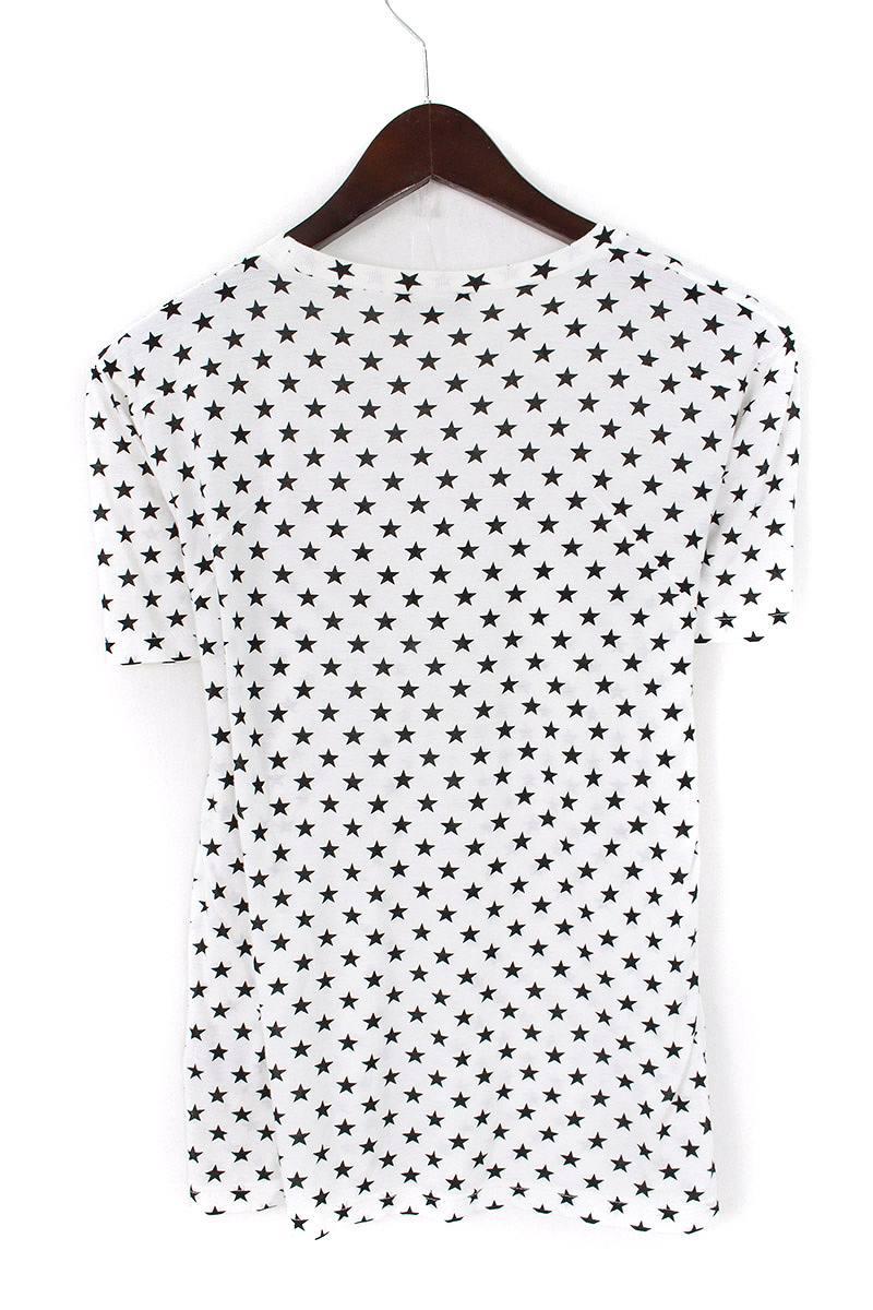 スター総柄Tシャツ