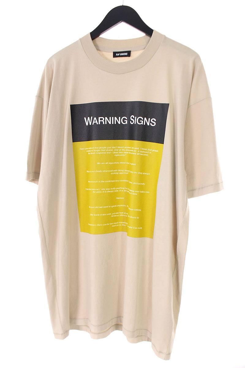 WARNING SIGNSオーバーサイズTシャツ