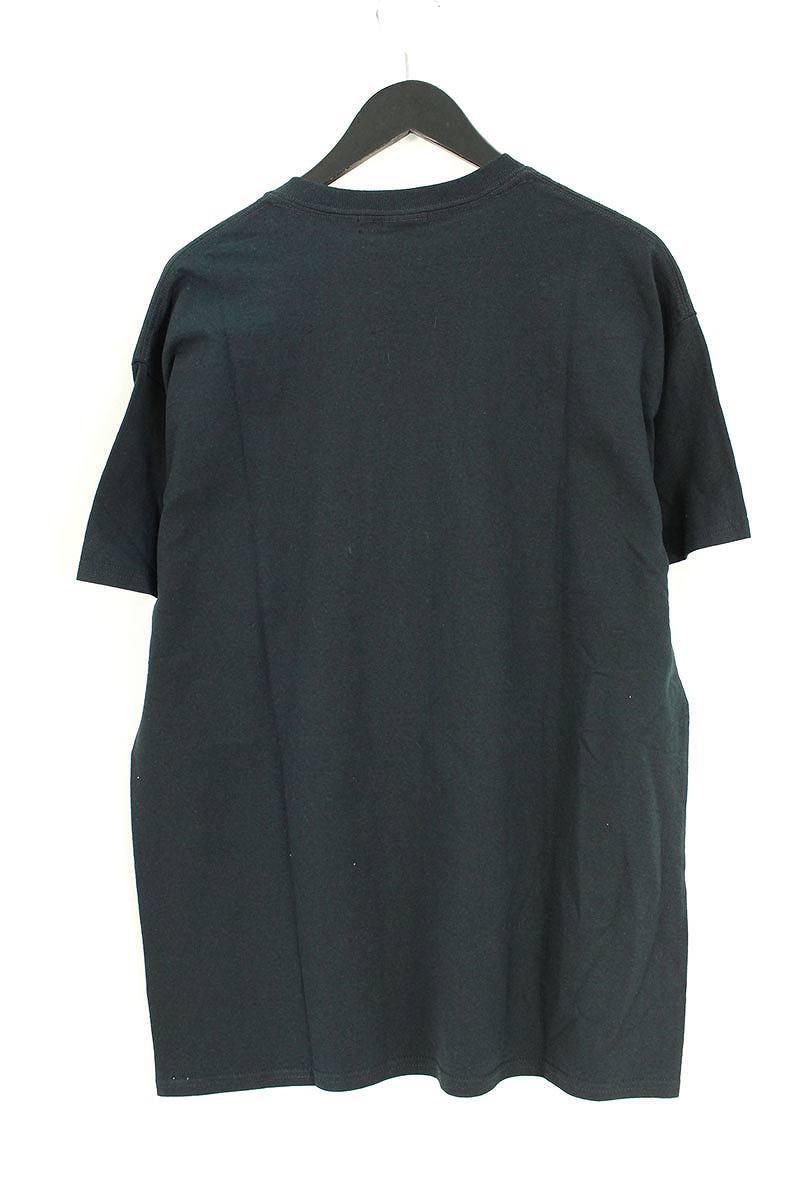 目隠しベアプリントTシャツ