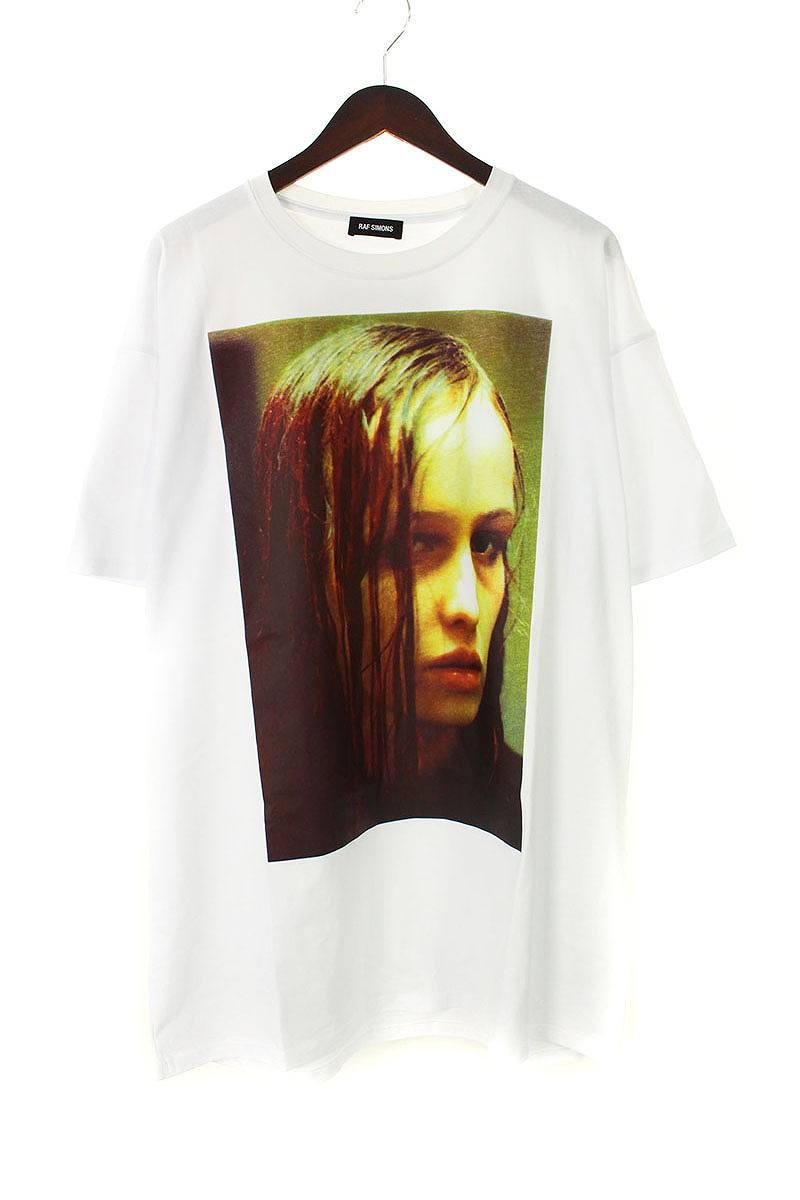 クリスティーナフォトプリントオーバーサイズTシャツ