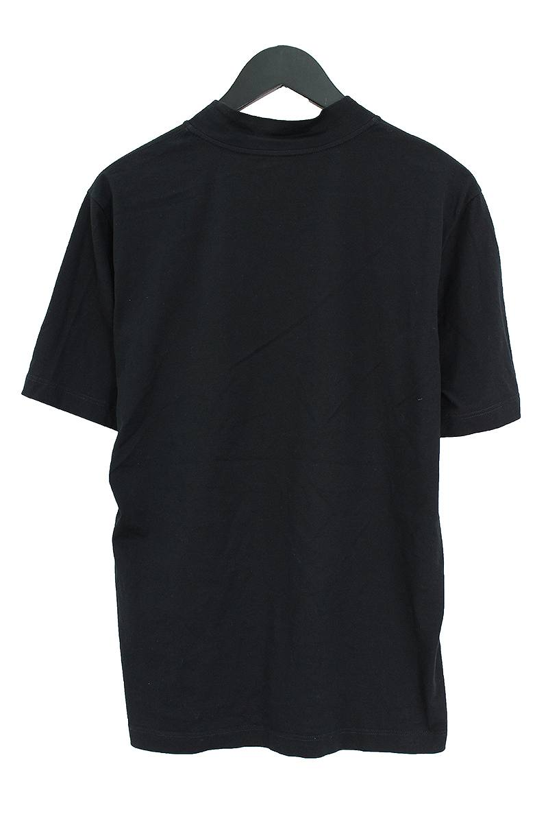ハイネックLVロゴ刺繍Tシャツ