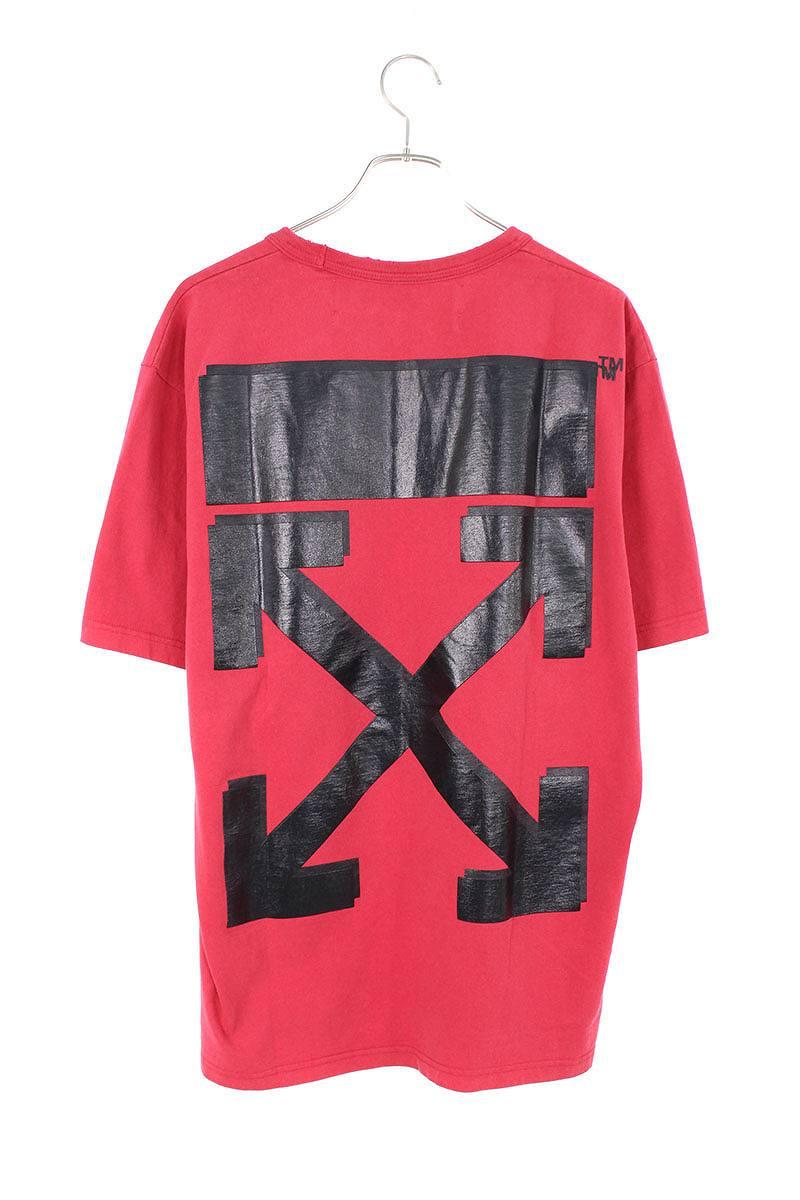 バックアロープリントTシャツ