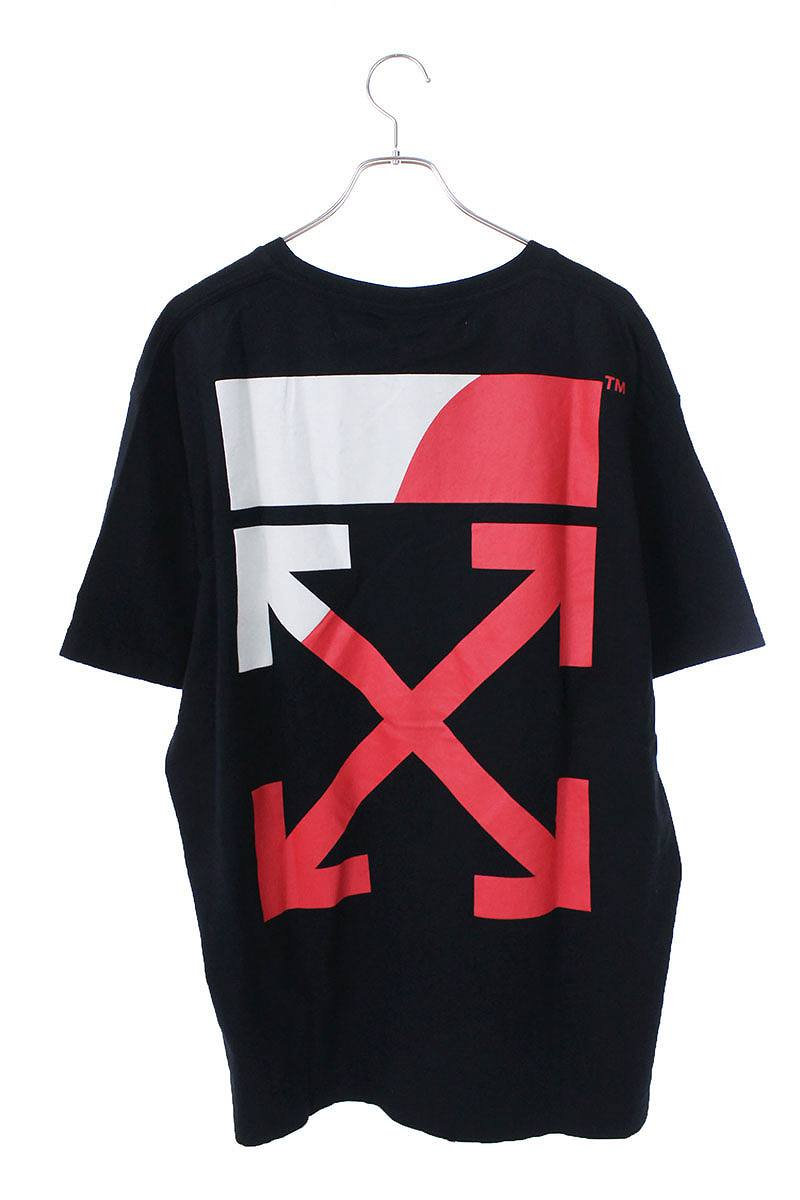 スプリットロゴプリントオーバーサイズTシャツ