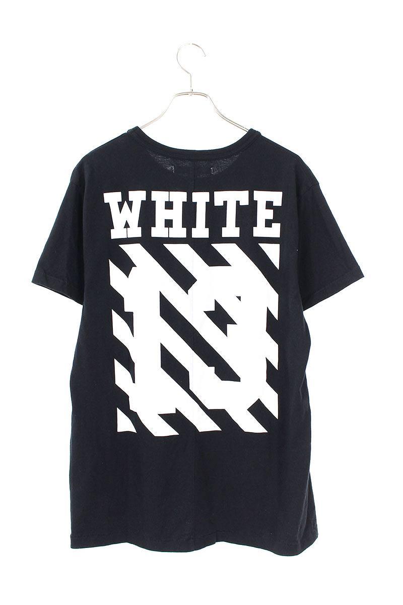 バックロゴカラヴァッジョプリントTシャツ