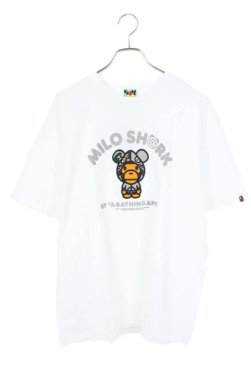 ベイビーマイロシャークプリントTシャツ