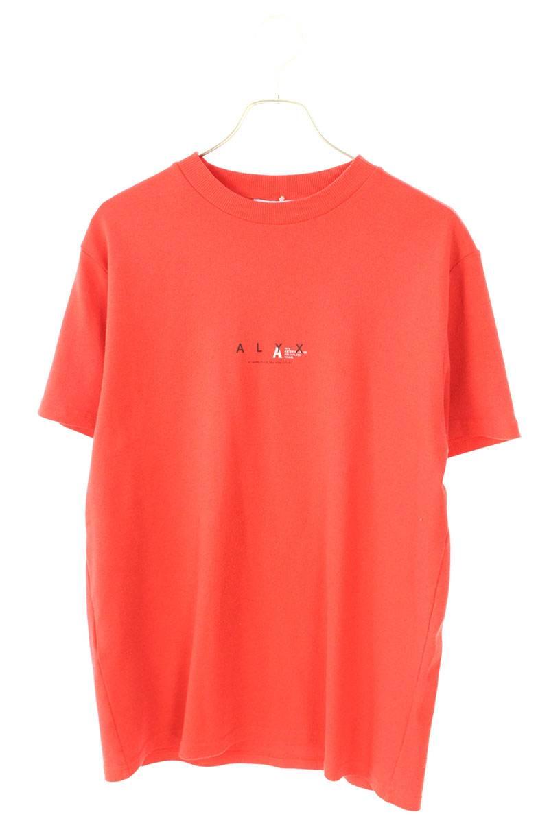 VISUAL フロントロゴプリントTシャツ