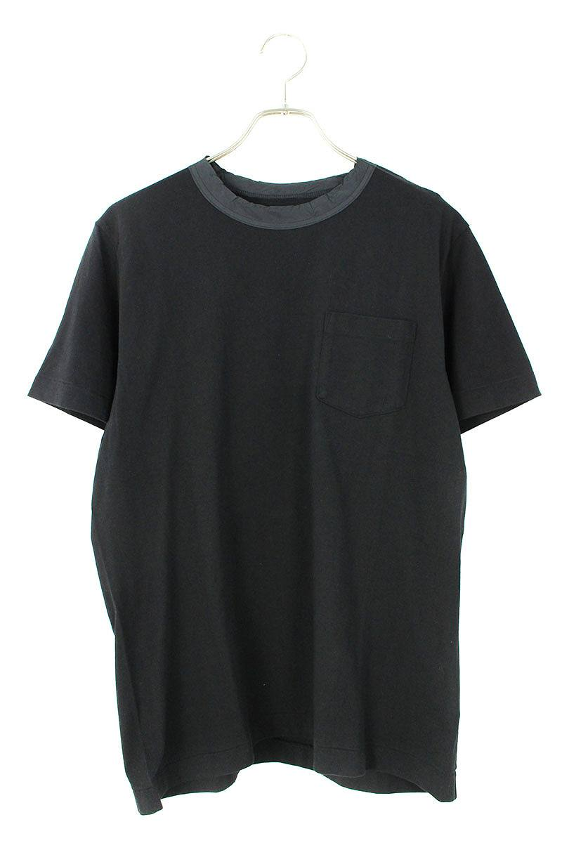 襟切替ポケットTシャツ