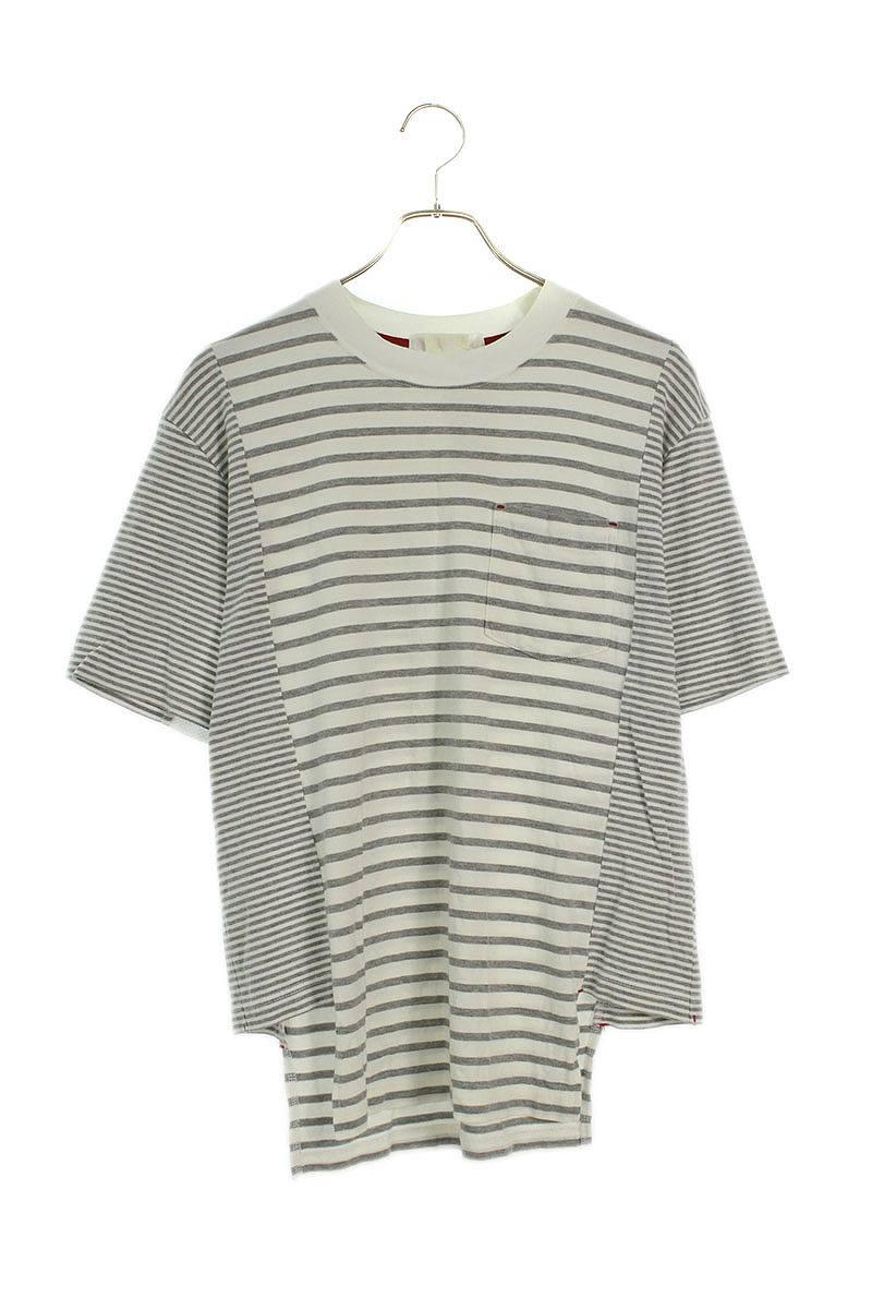 AD2012パッチワークボーダーTシャツ