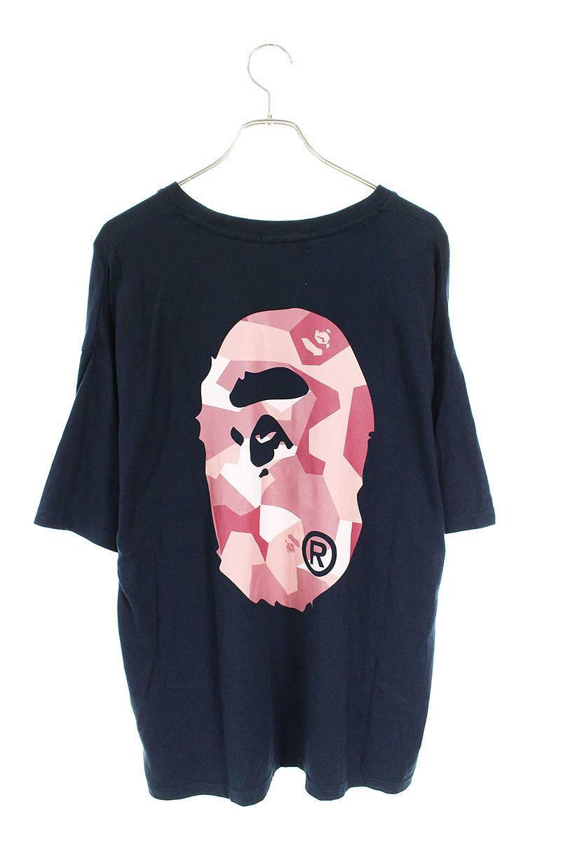 バックサルカモプリントTシャツ