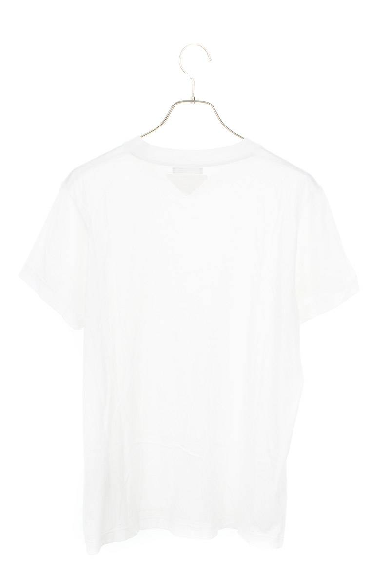 三角パッチ付きクルーネックTシャツ